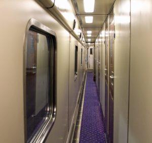 Prendre le train de nuit avec Interrail