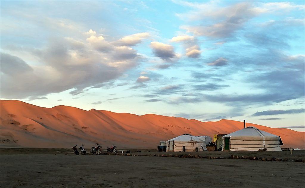 Guest house au pied de la dune de sable