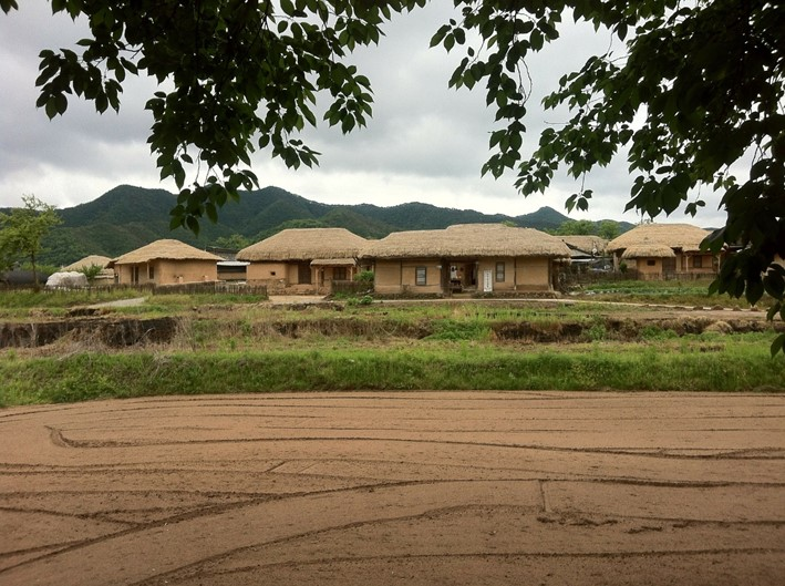 Le village d'Hahoe près d'Andong