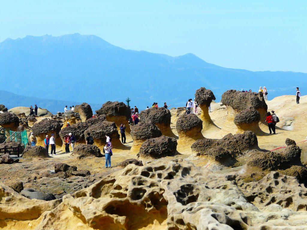 Visiter Taiwan Yehliu Geoparc